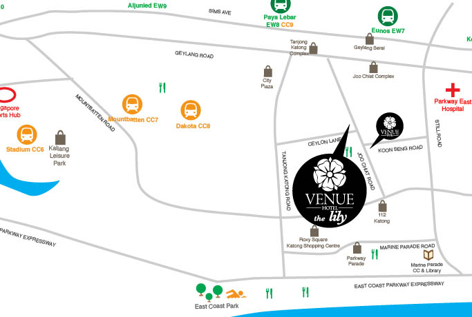 Location Where To Stay In Singapore Venue Hotel The Lily